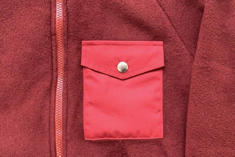Battenwear Warm-Up Fleece Bordeaux