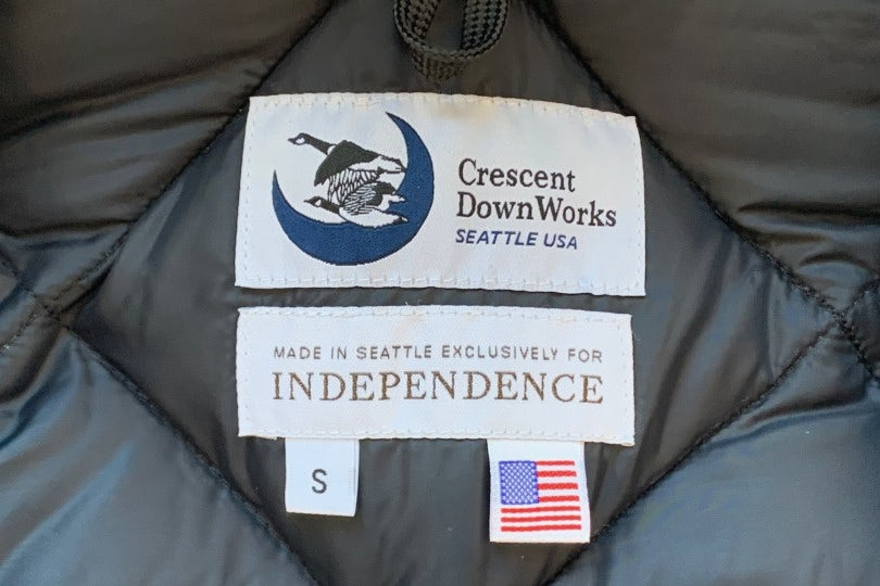 Crescent Down Works Expedition Guide Parka Black