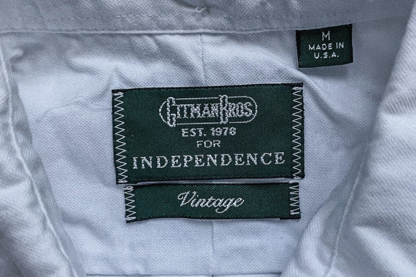 Gitman Bros. Vintage 1959 Independence Oxford White