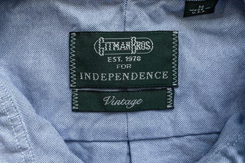 Gitman Bros. Vintage 1959 Independence Oxford Blue