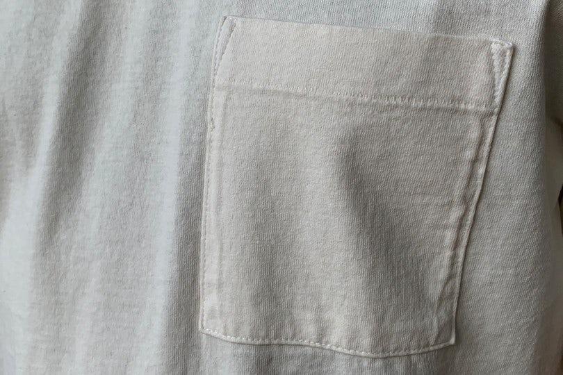Dehen 1920 Heavy Duty Tee - Single Pocket Natural