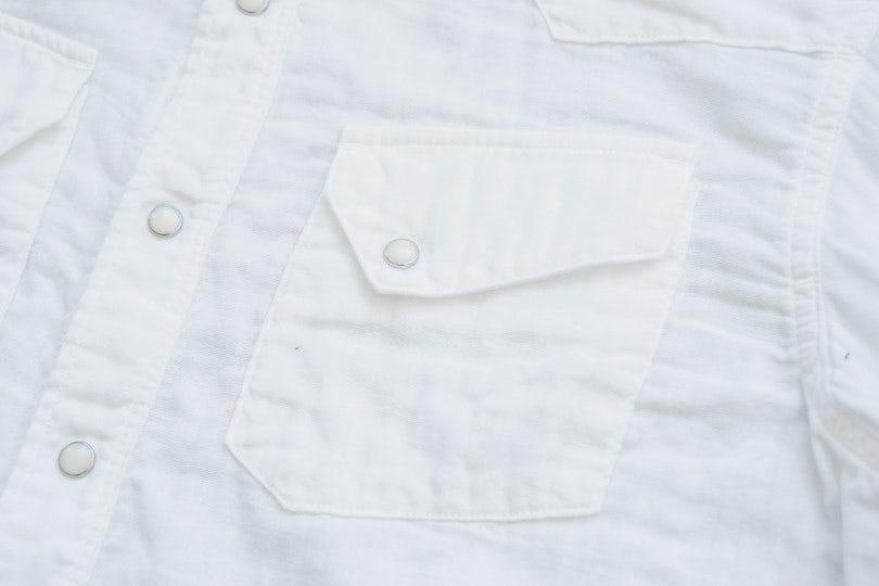 Kapital Double Gauze Western Shirt White