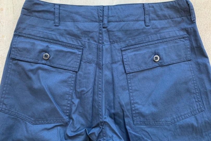 Engineered Garments Fatigue Pant Navy Twill