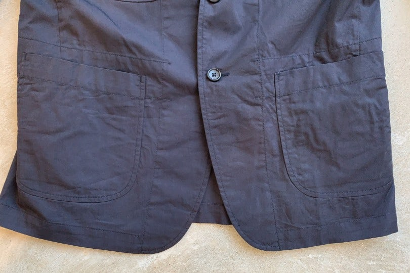 Engineered Garments NB Jacket Black Highcount Twill