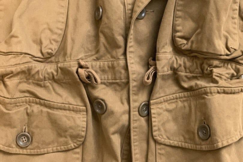 Kapital Katsuragi Cotton Ring Coat  Gold