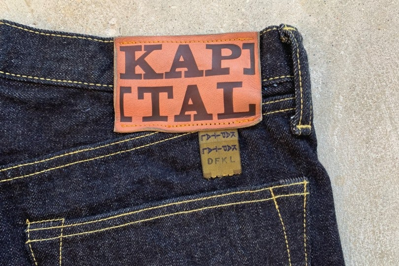 Kapital 140z Denim 5P Monkey Cisco Monkey Cisco