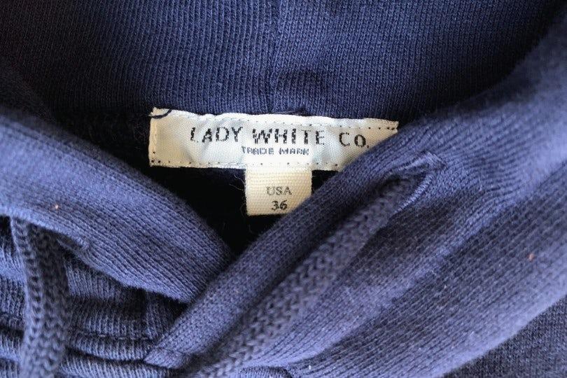 Lady White Co. Hoodie Navy Hooded Sweatshirt