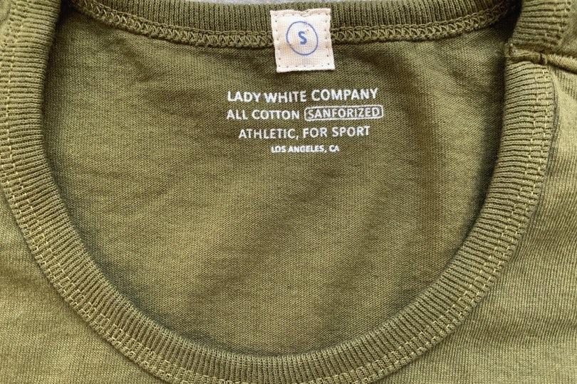 Lady White Co. Single T Fern Green T-Shirt
