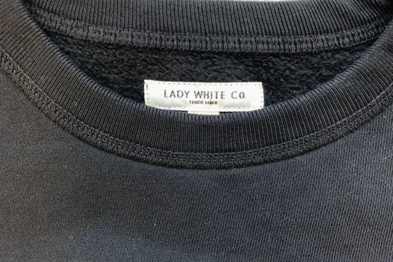 Lady White Co. 44 Fleece  Black Sweatshirt