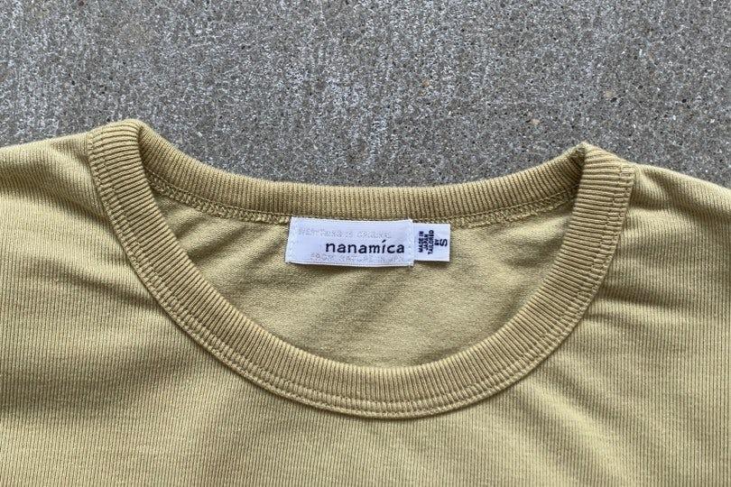 Nanamica Coolmax Jersey Tee Beige