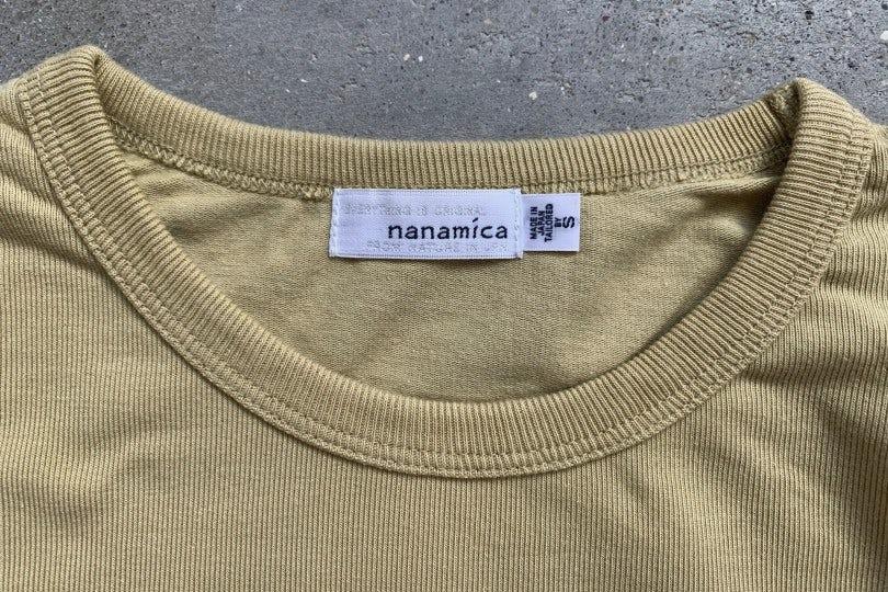 Nanamica Coolmax Jersey L/S Tee Beige