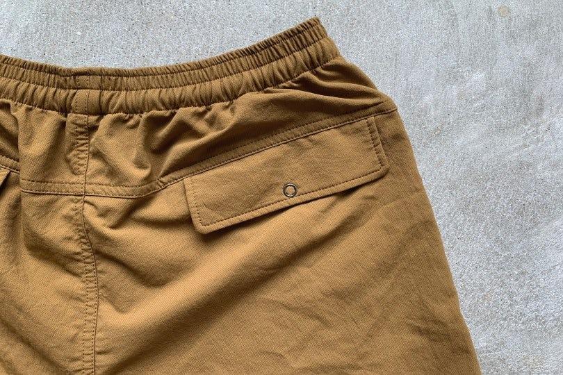 Nanamica Alphadry Easy Shorts Ocher