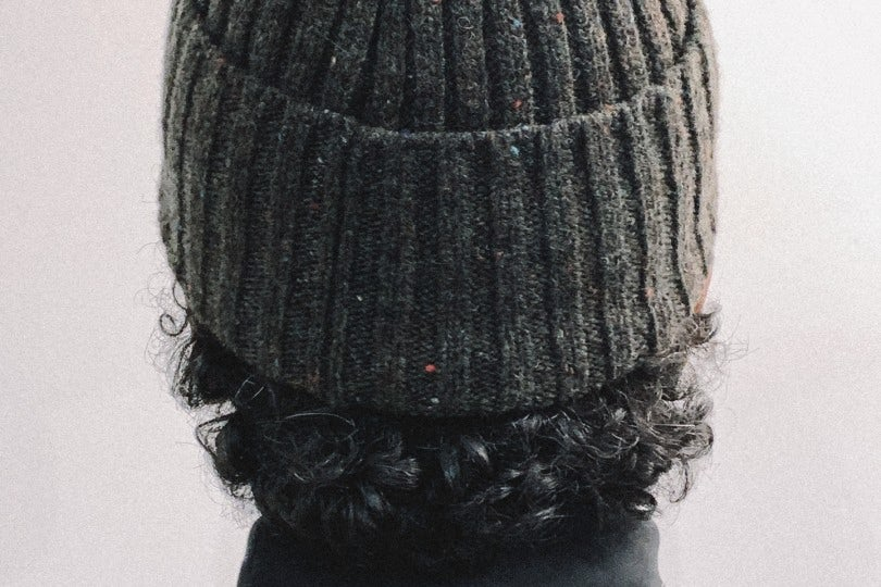 Norse Projects Beanie Neps Beanie Beech Green