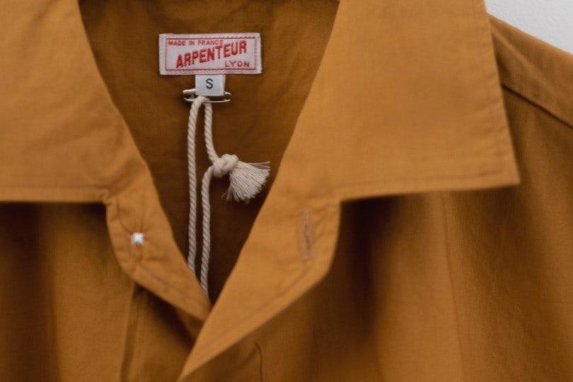 Arpenteur Pyjama Popeline Camel