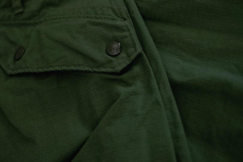 Engineered Garments Norwegian Pant Olive Cotton Ripstop