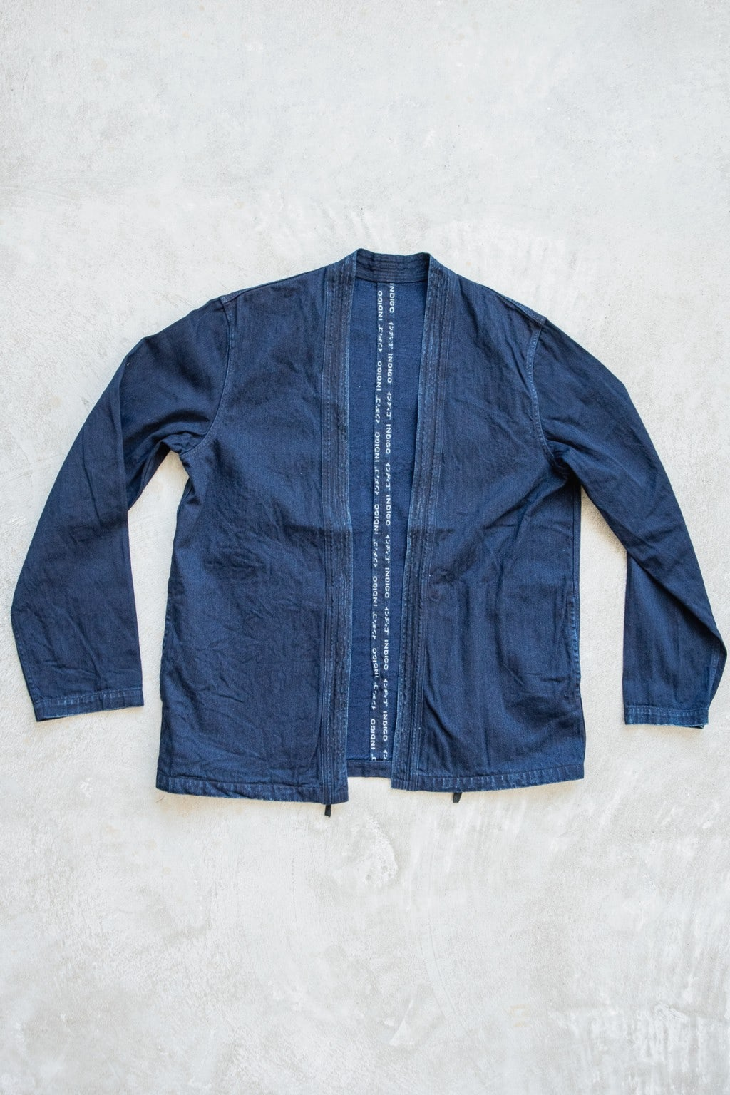 Kapital 8ozIDG x IDG Selvedge Denim KAKASHI Shirt Indigo