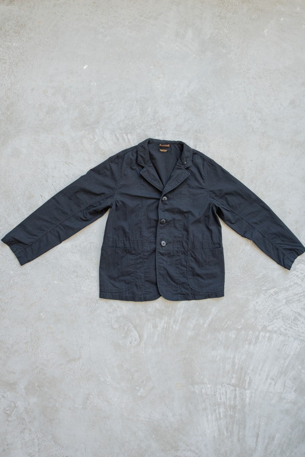 Kapital Rip-Stop HOSPITAL Jacket Black