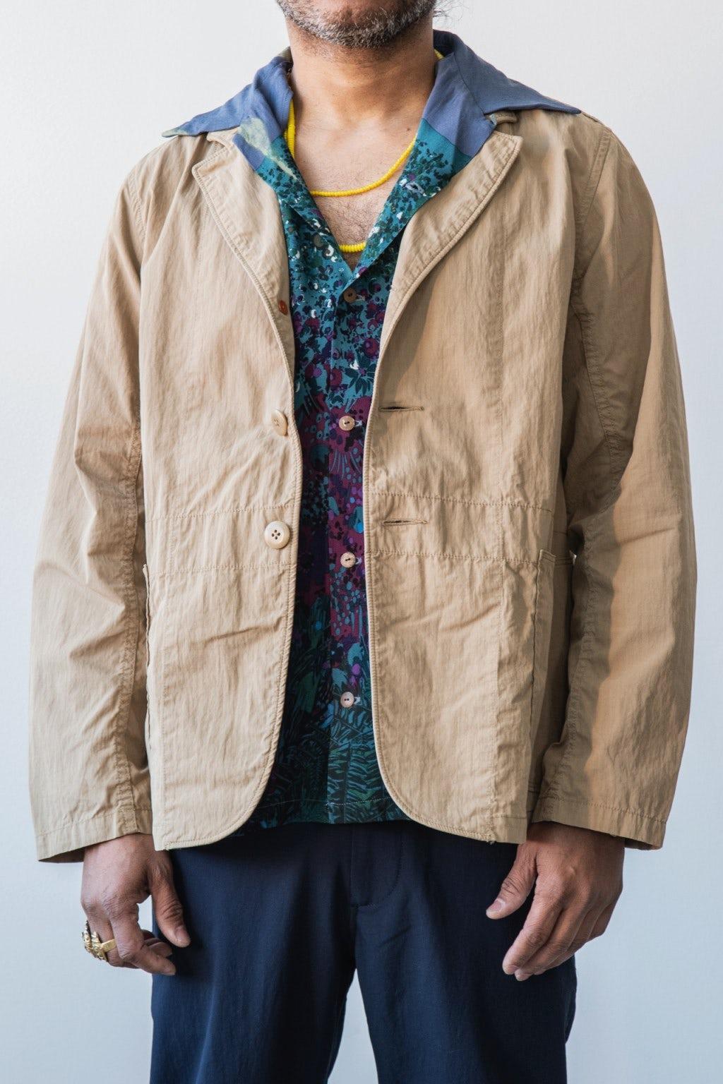 Kapital Rip-Stop HOSPITAL Jacket Beige