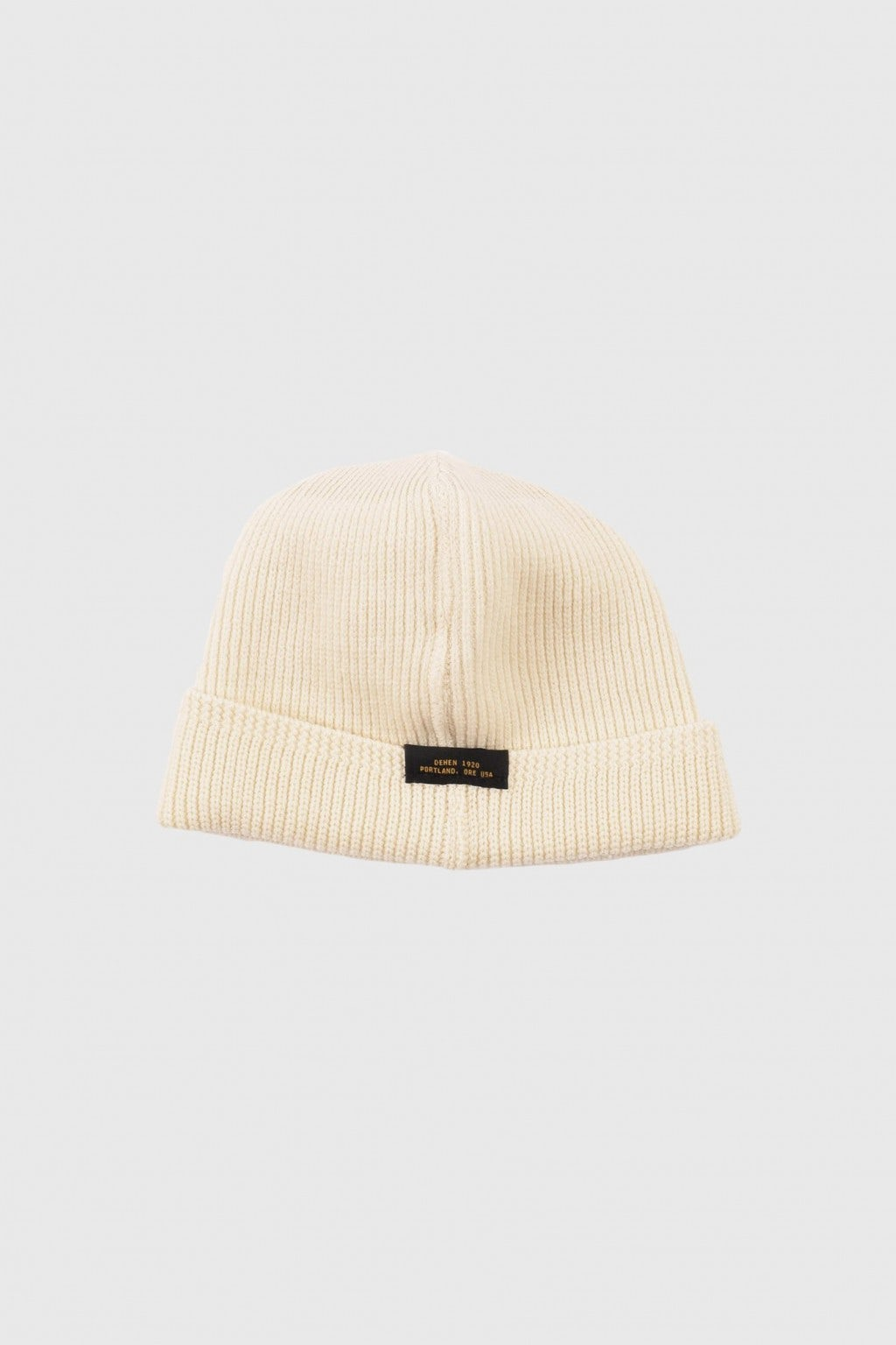 Dehen 1920 Wool Knit Watch Cap Natural