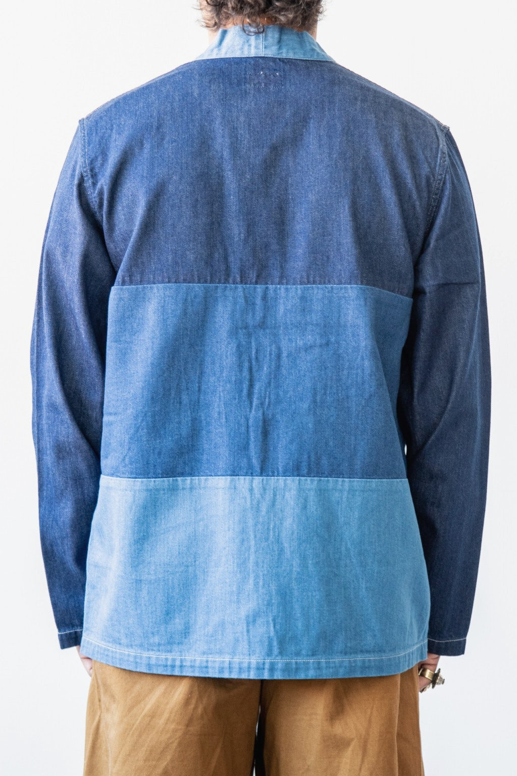 Kapital 8ozDenim 4TONES KAKASHI Shirt Indigo