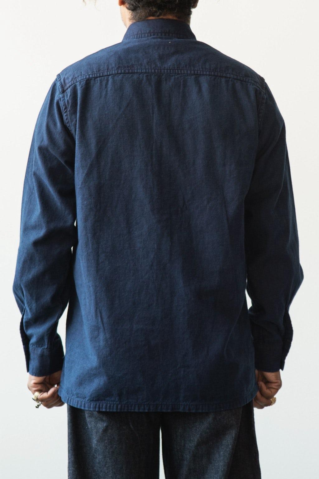 Blue Blue Japan LS Big Pocket Shirt 50 Indigo