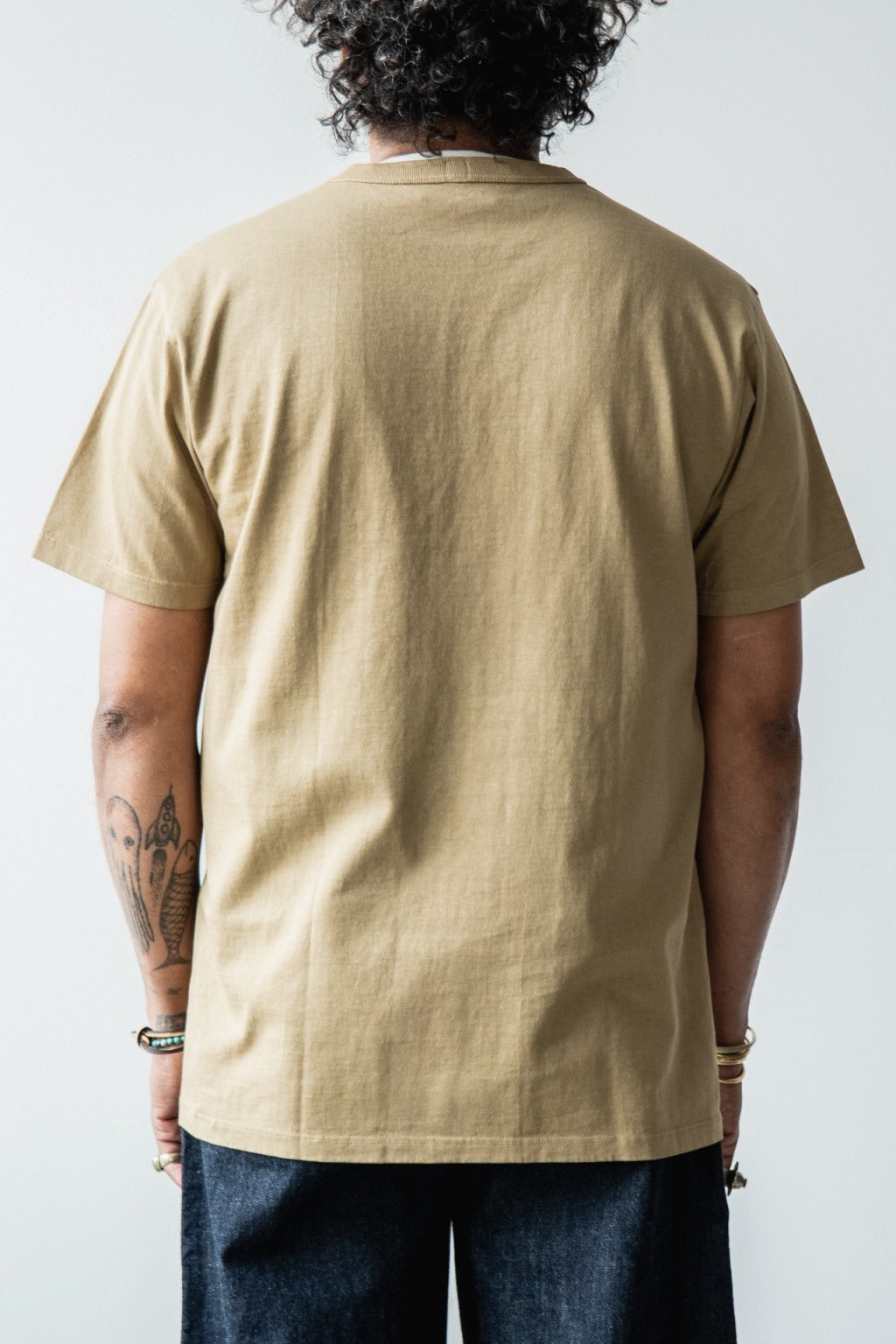 Lady White Co. Clark Pocket T-Shirt Khaki Fog
