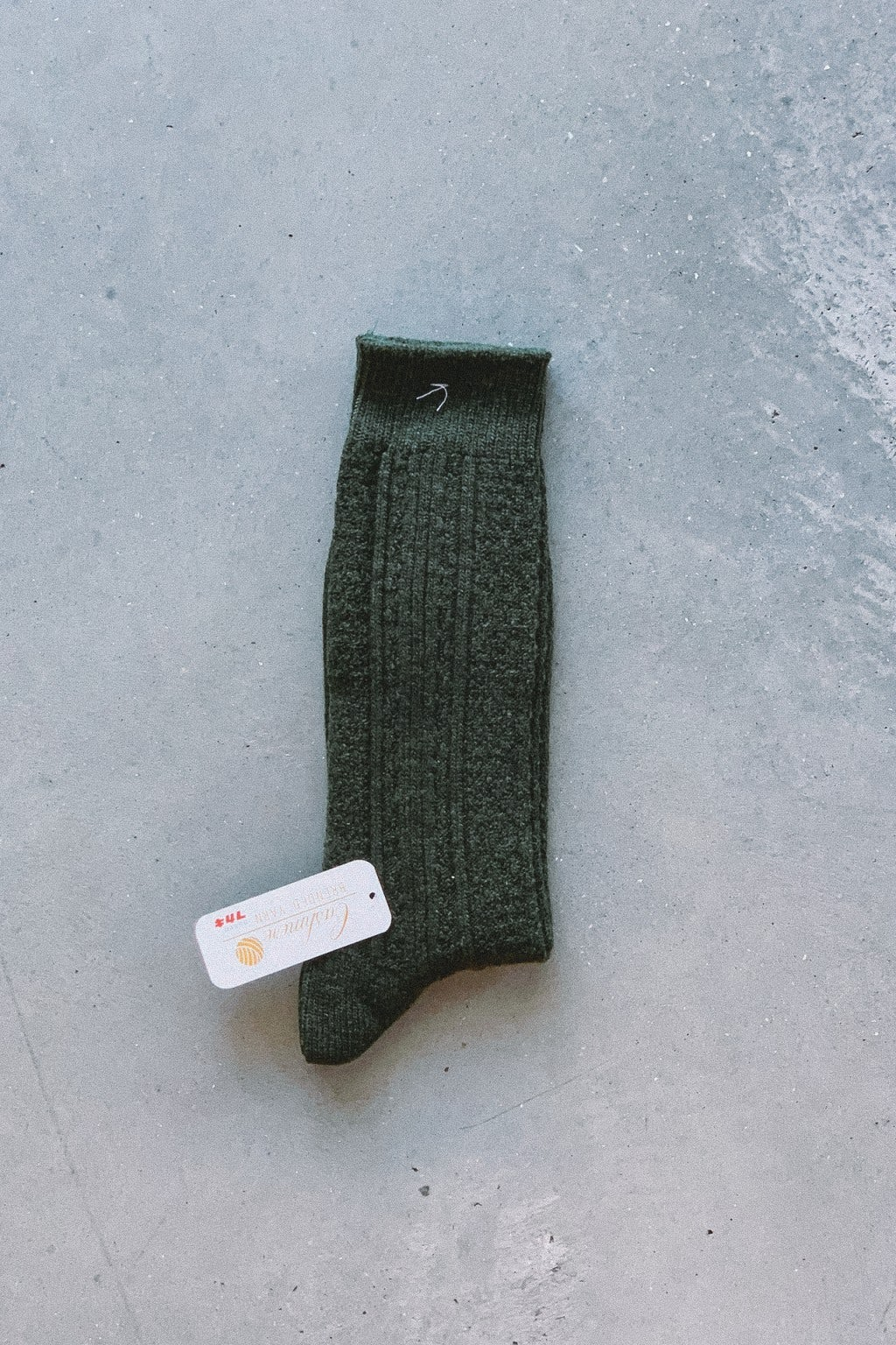AnonymousIsm Crew Sock Green Cashmere
