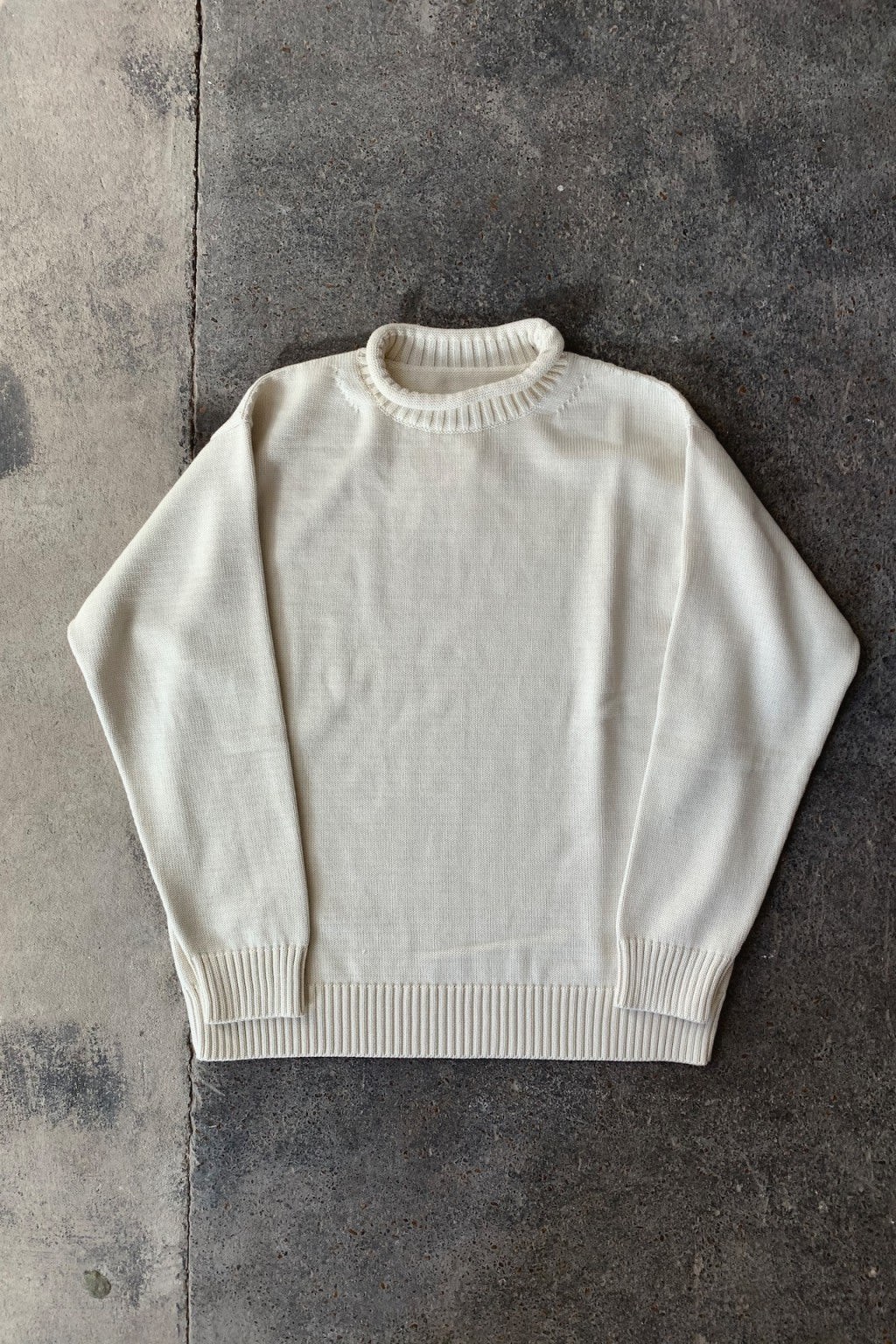 Arpenteur Turtle Neck Sweater Ecru