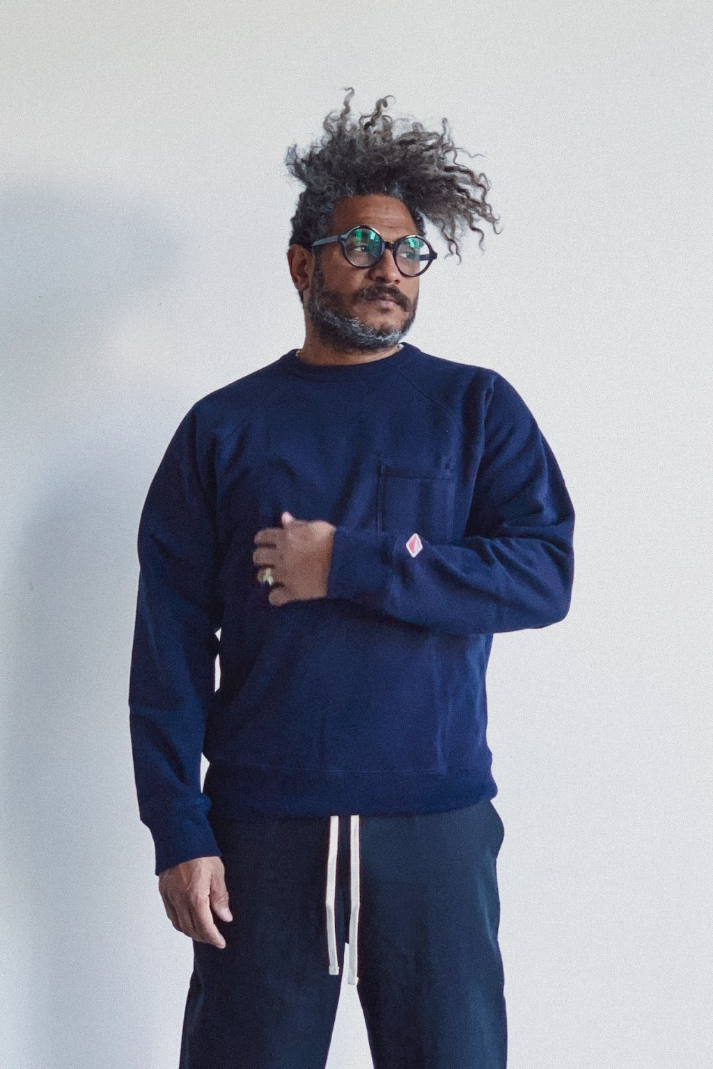 Battenwear Reach Up Sweatshirt Midnight Navy