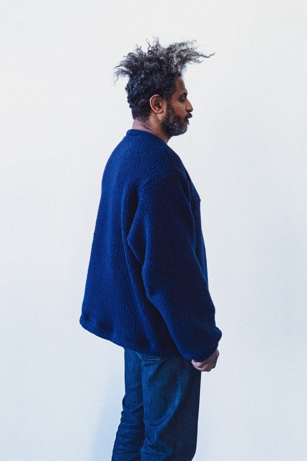 Battenwear Lodge Crewneck  Navy