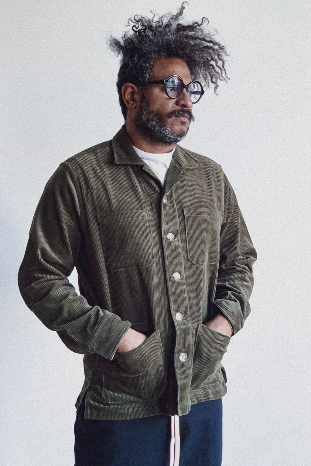 Battenwear Five Pocket Canyon Shirt Olive