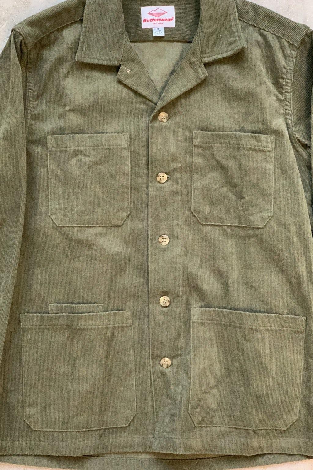 Battenwear Five Pocket Canyon Shirt Olive