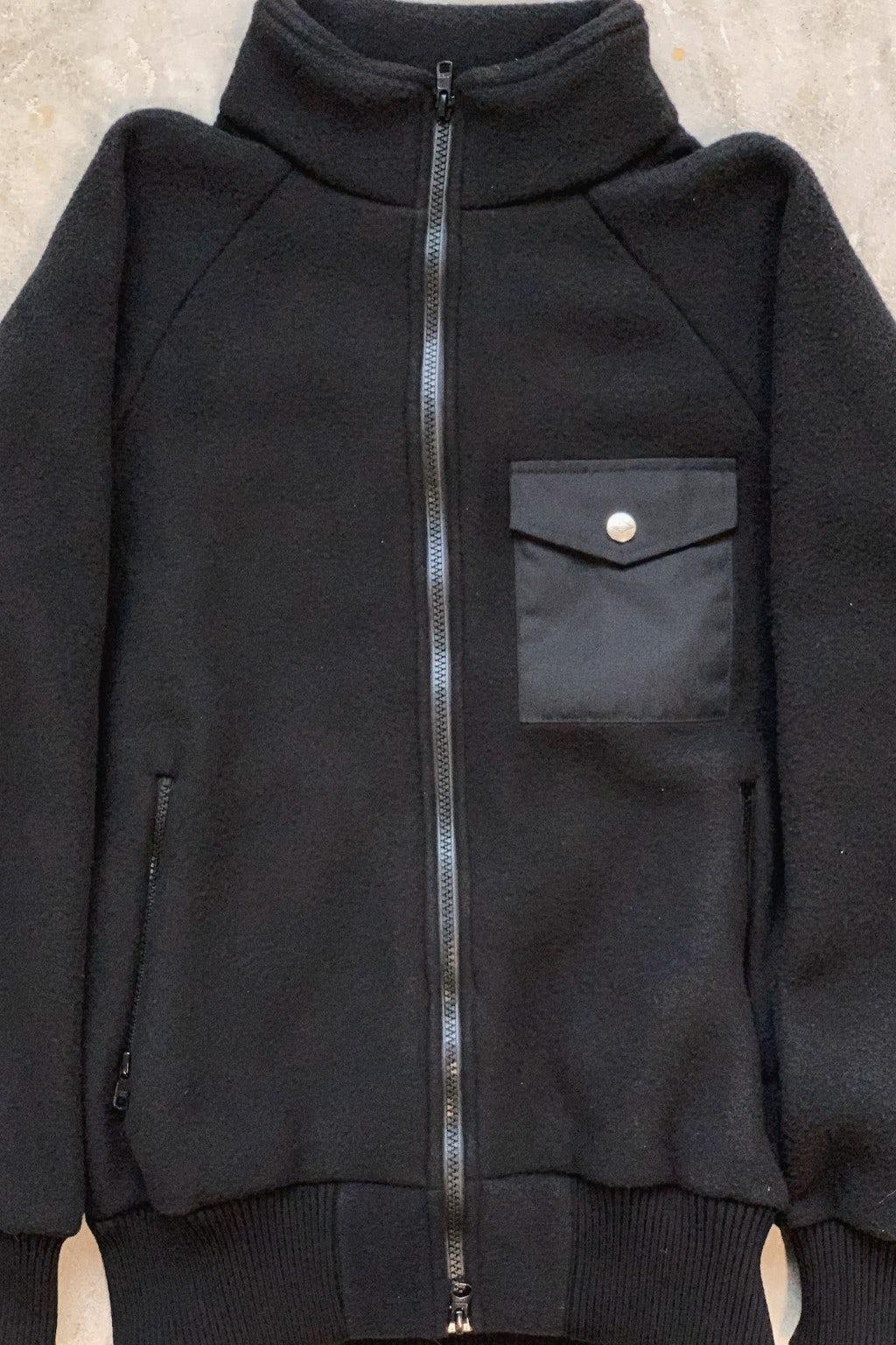 Battenwear Warm-Up Fleece Black