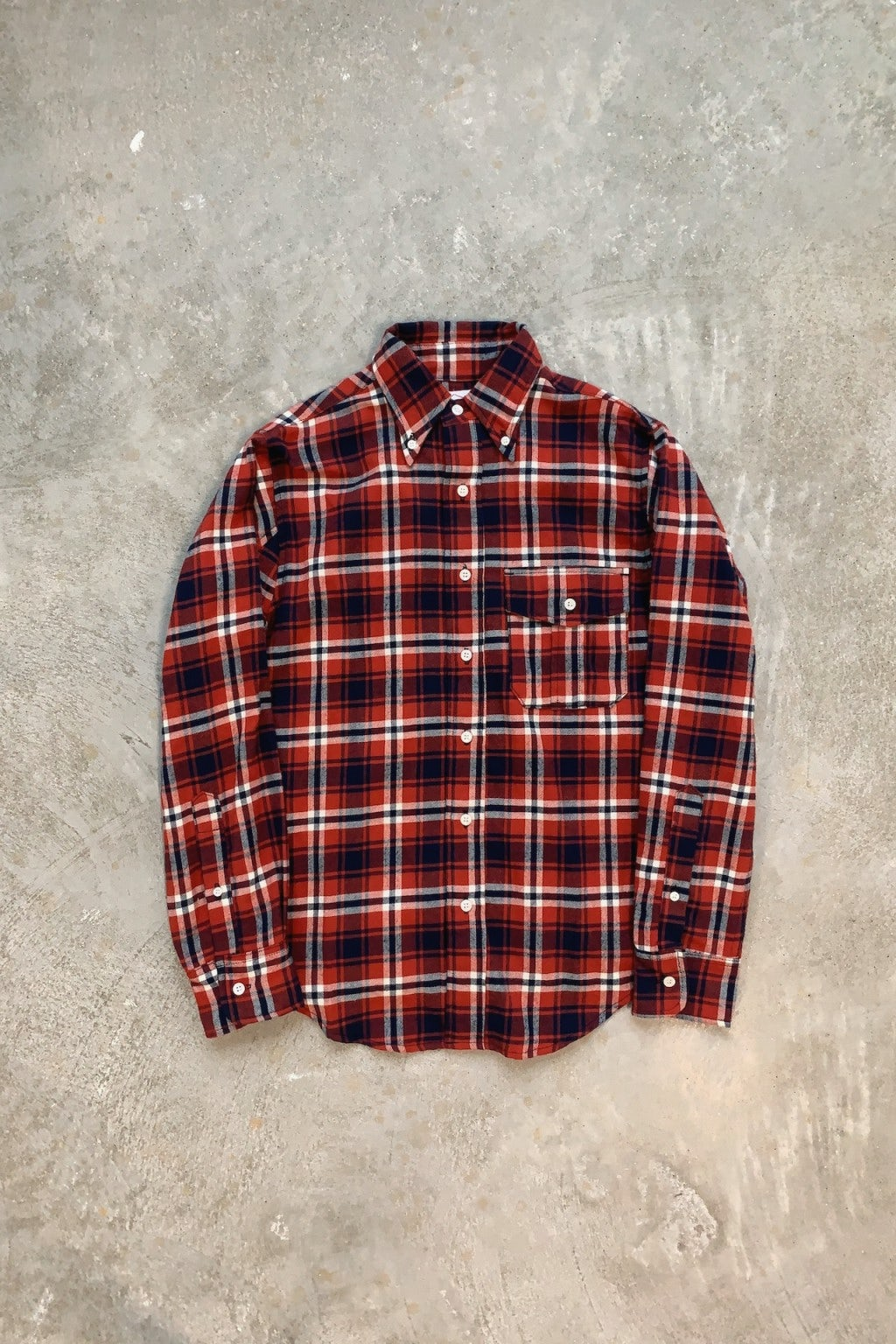 Battenwear BD Scout Shirt Red Plaid