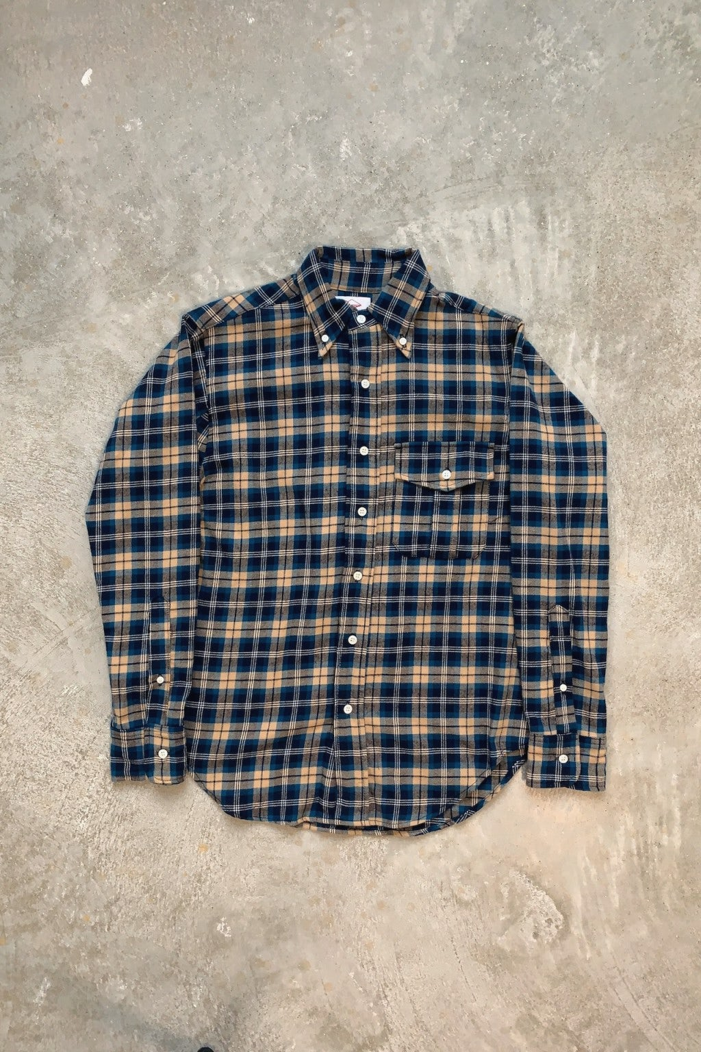 Battenwear BD Scout Shirt Blue Plaid