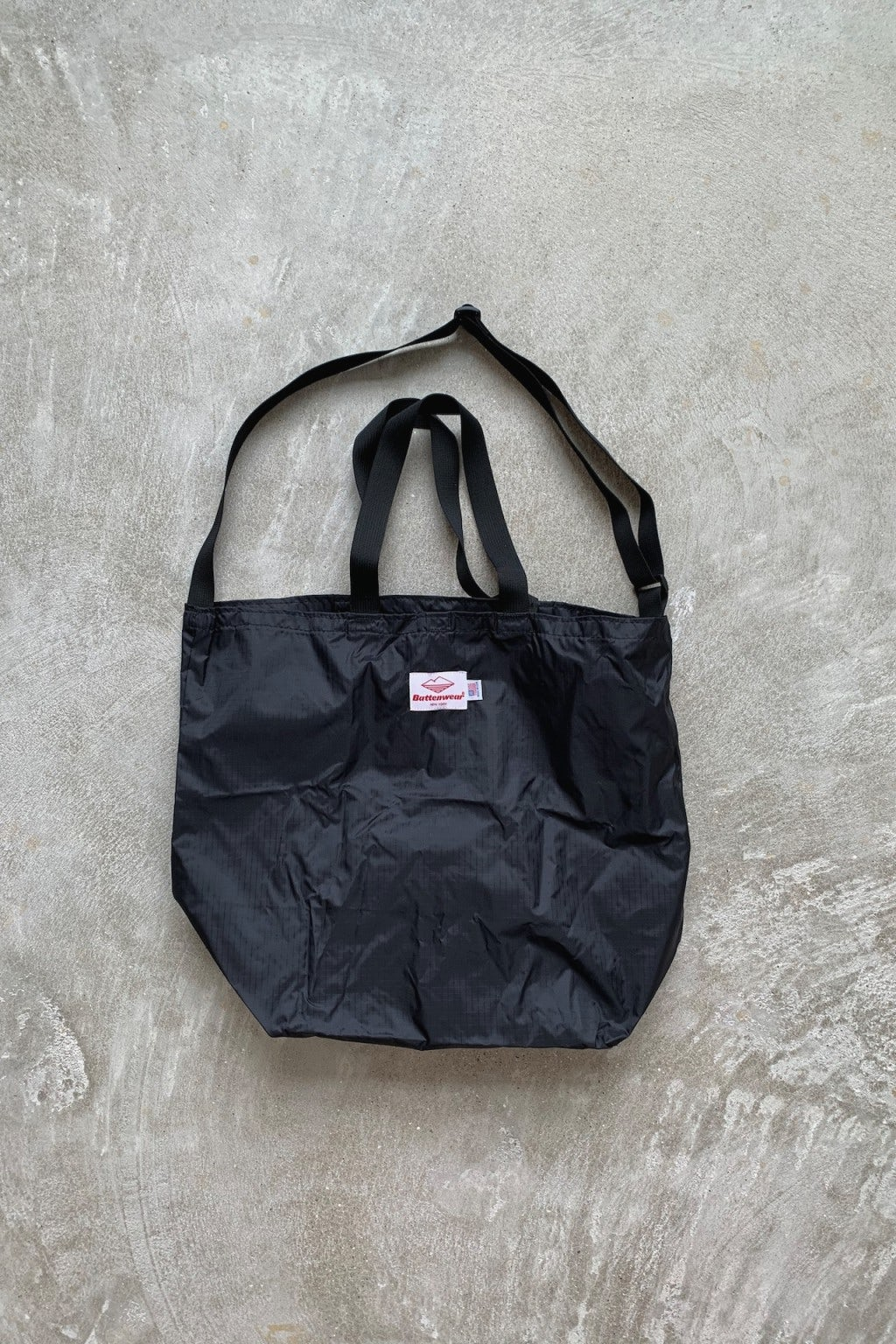 Battenwear Packable Tote Black