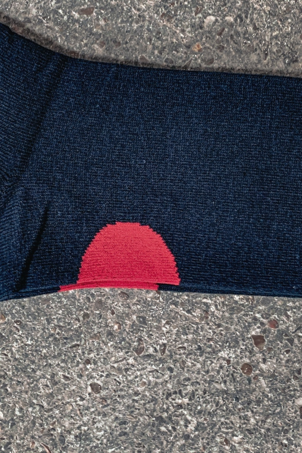 Blue Blue Japan Flag Sock Navy