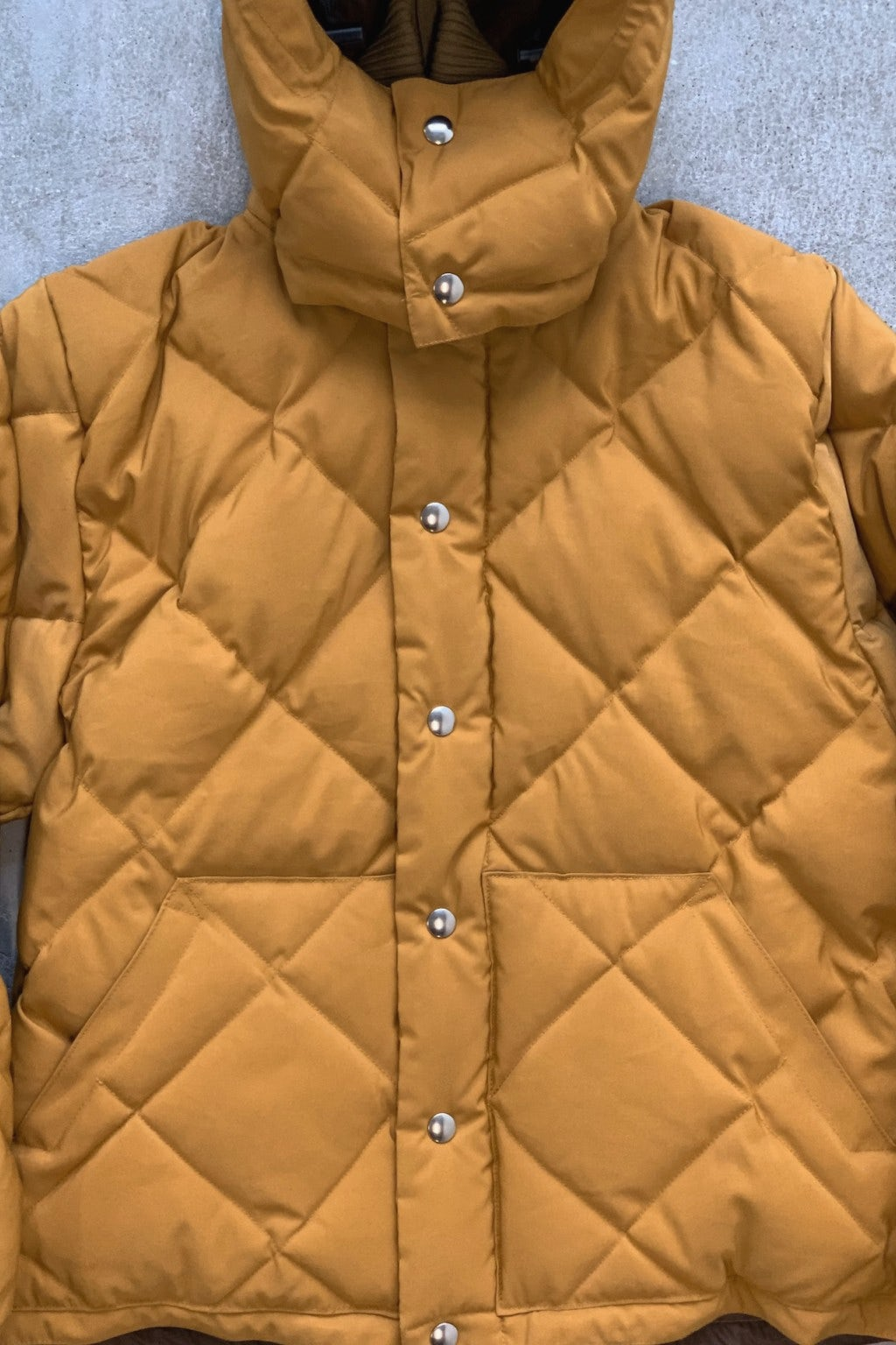 Crescent Down Works Expedition Guide Bomber Mustard/Brown
