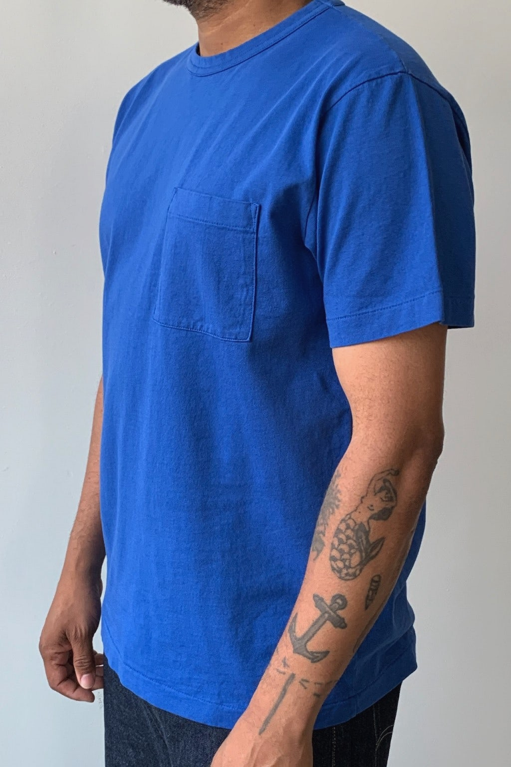 Dehen 1920 Heavy Duty Tee - Single Pocket Royal