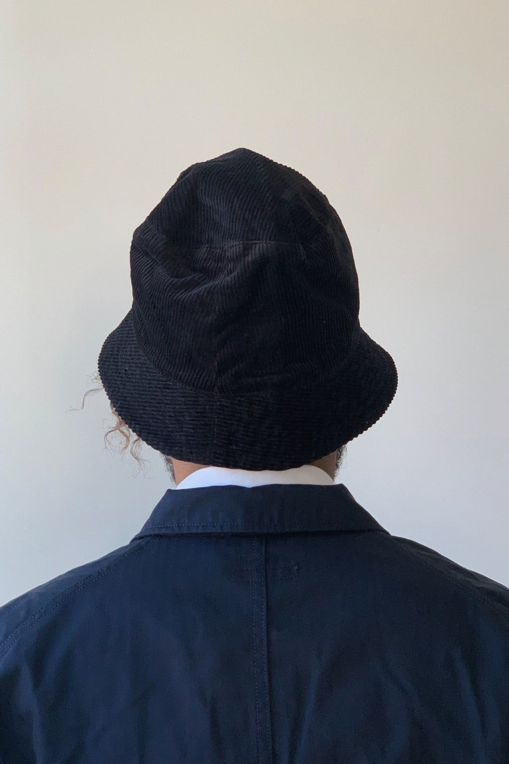Engineered Garments Bucket Hat Black 8W Corduroy