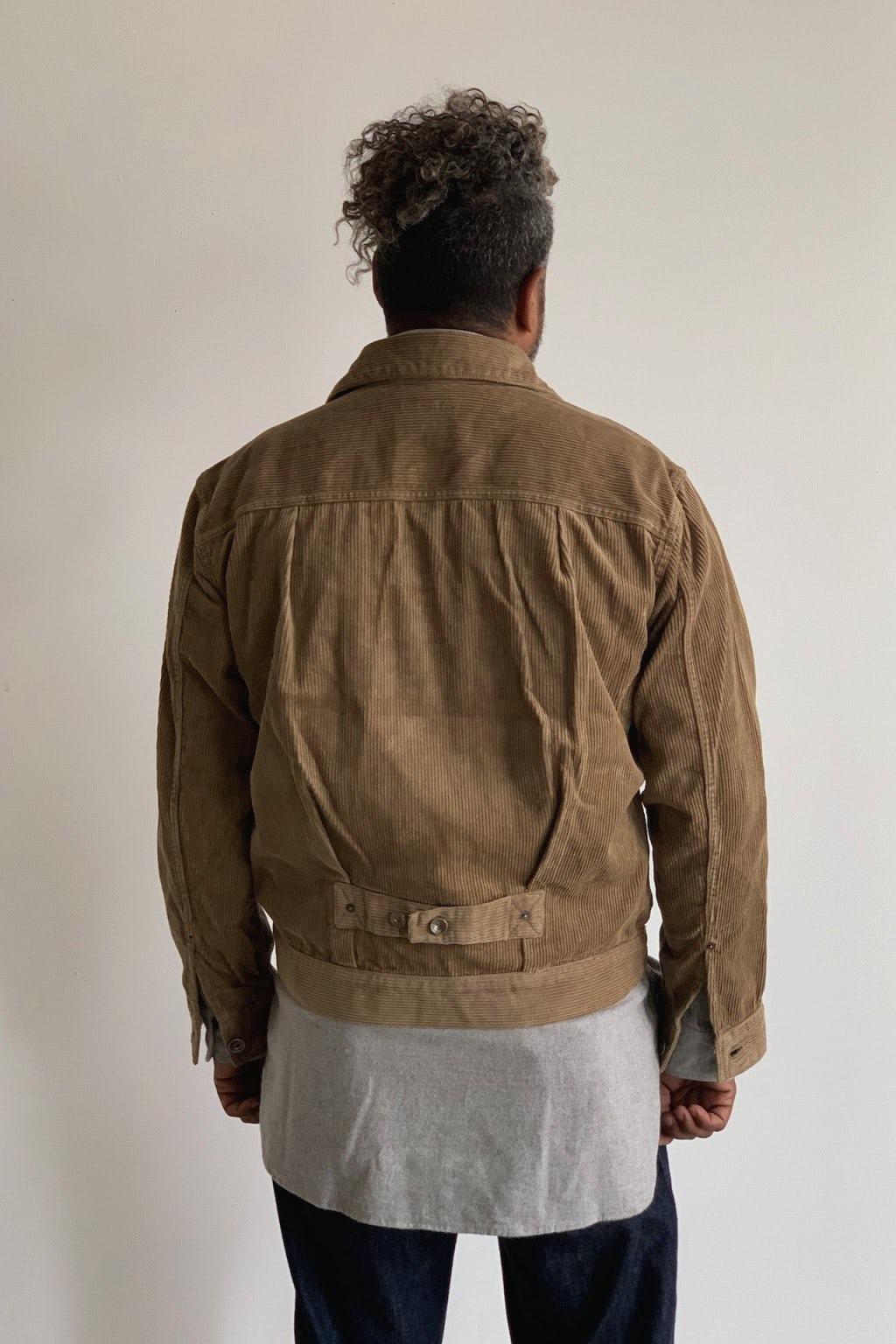 Engineered Garments Trucker Jacket Khaki 8W