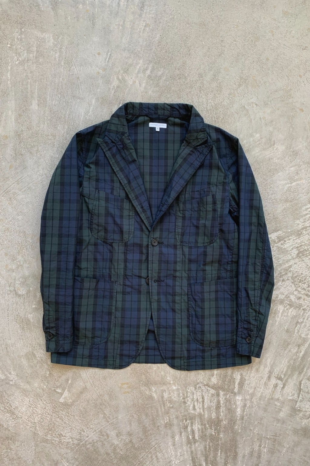 Engineered Garments NB Jacket Blackwatch