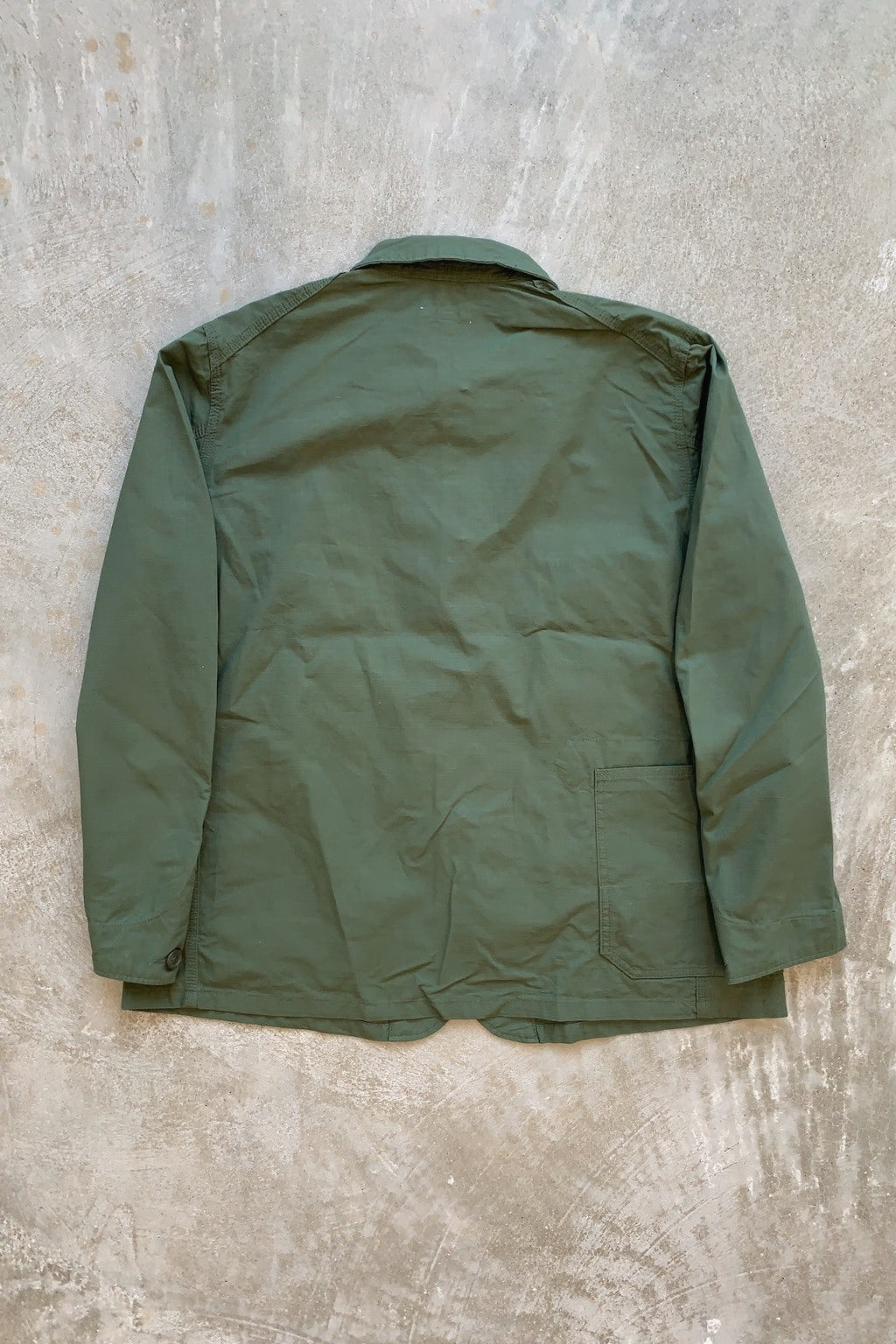 Engineered Garments Work Jacket Olive Ripstop