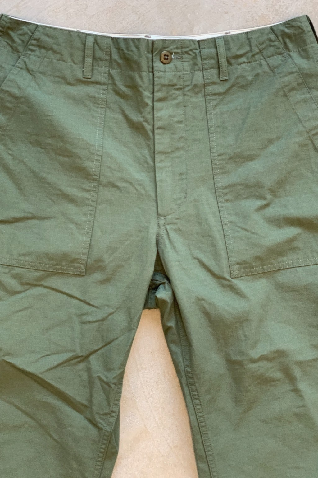Engineered Garments Fatigue Pant Olive Riptstop