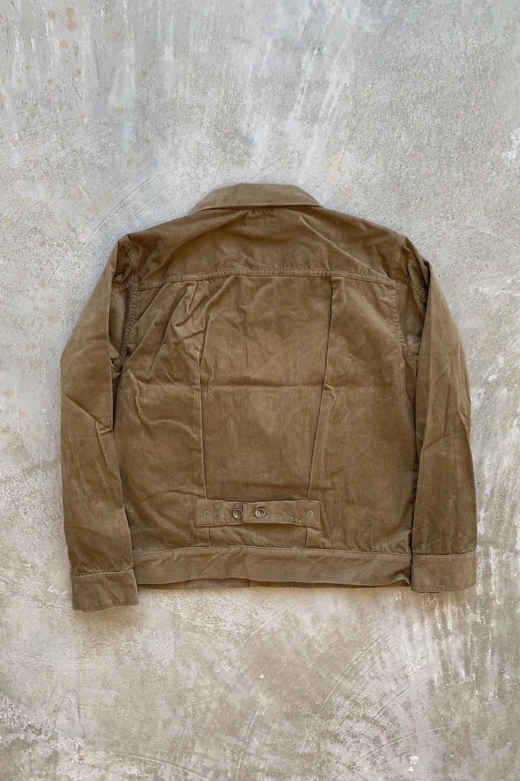 Engineered Garments Trucker Jacket Khaki 14W