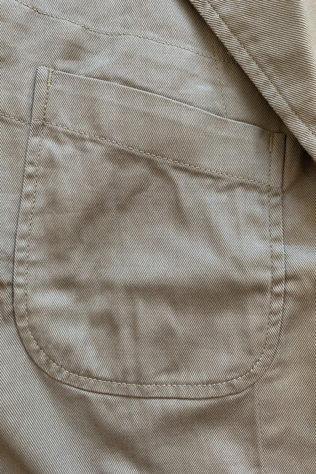 Engineered Garments Bedford Jacket Khaki 6.5oz Flat Twill