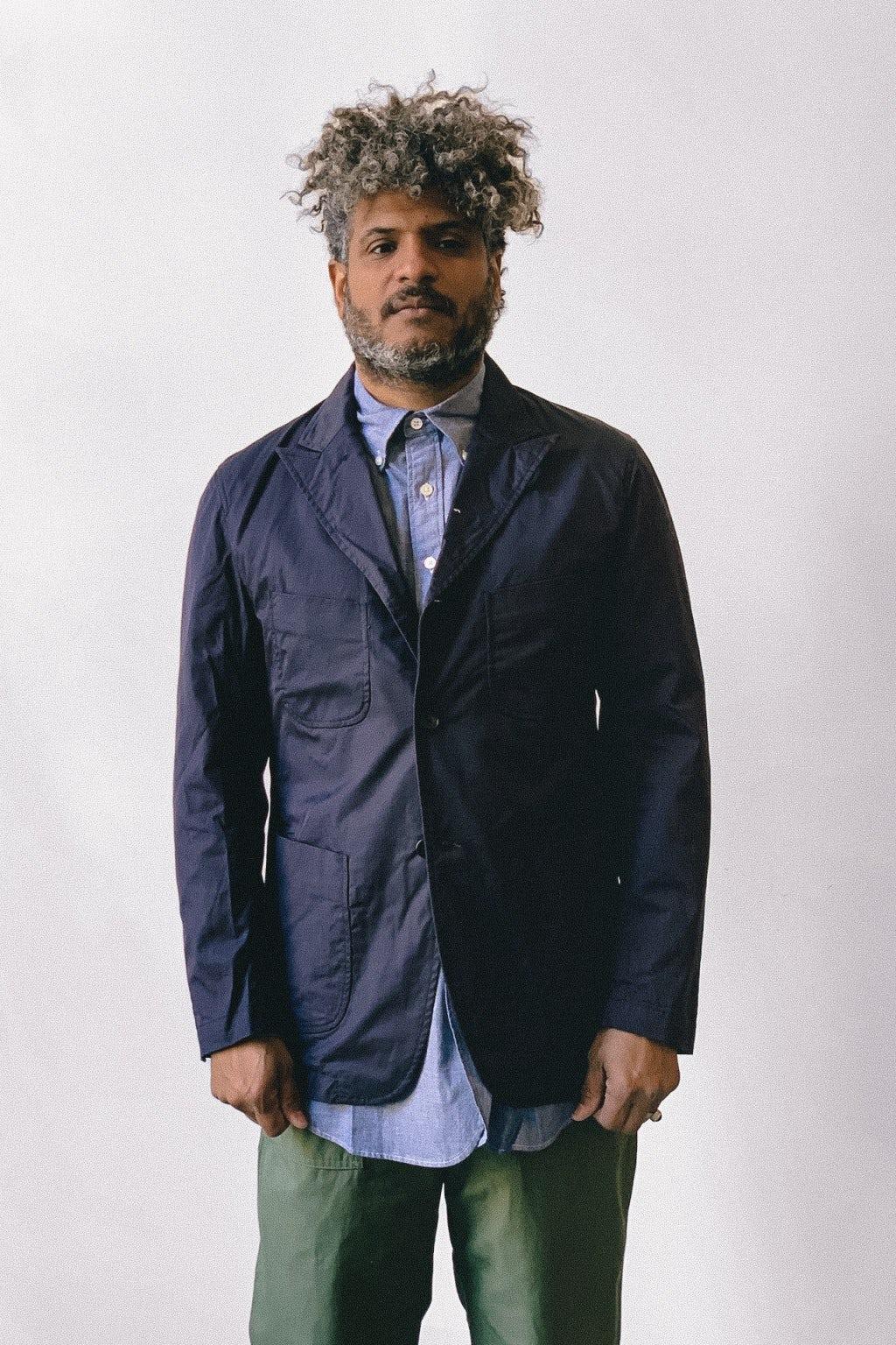 Engineered Garments NB Jacket Dark Navy High Count Twill