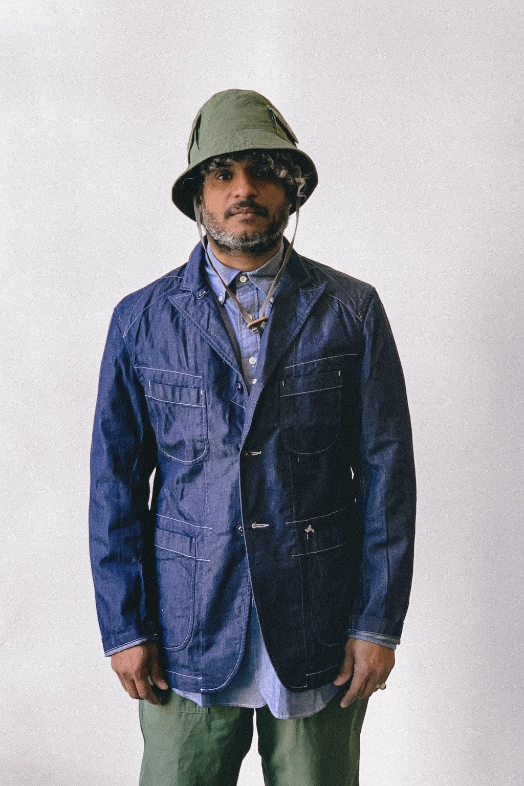 Engineered Garments Bedford Jacket Indigo 8oz Cone Denim