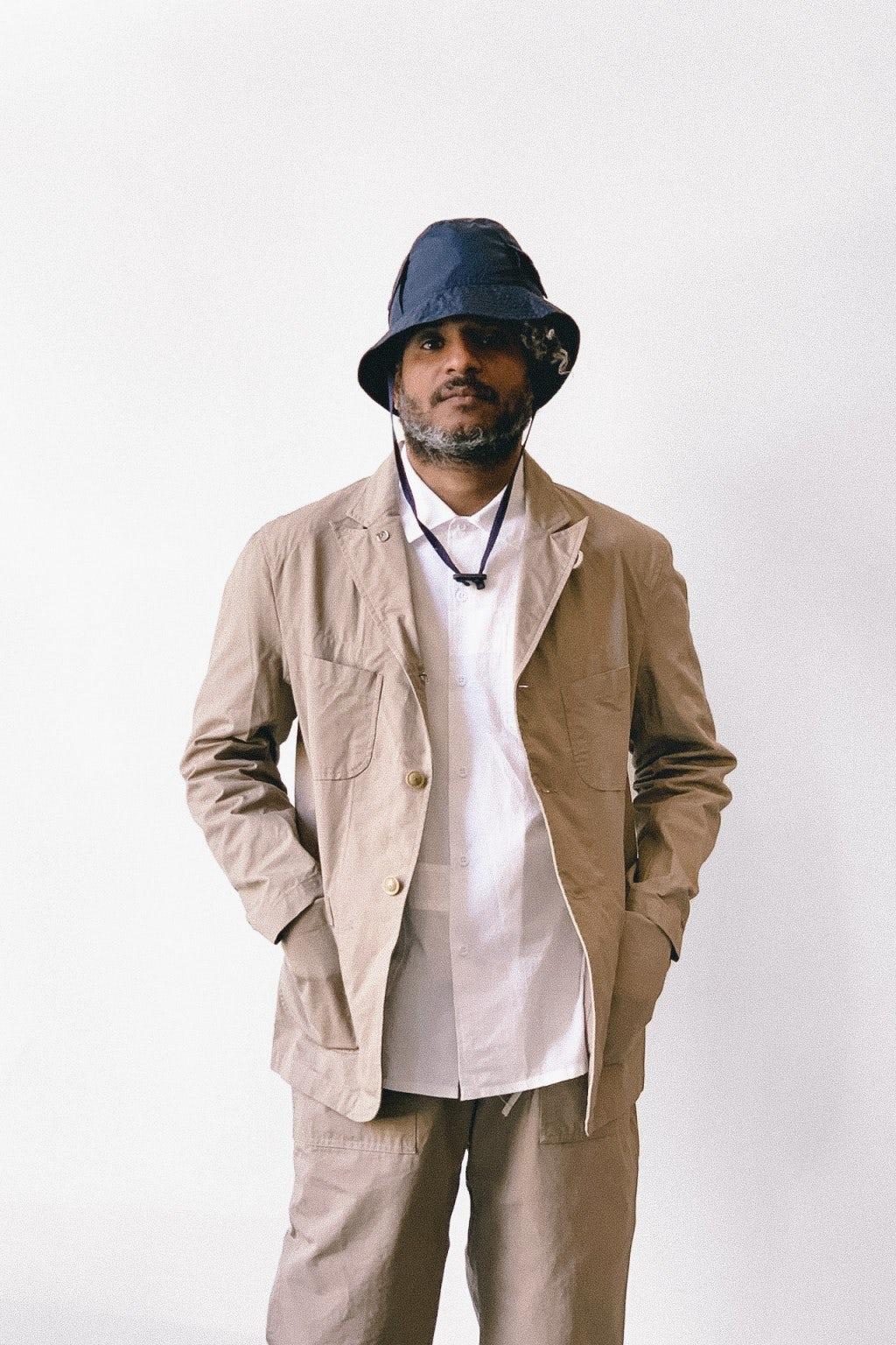 Engineered Garments Bedford Jacket Khaki Cotton Ripstop