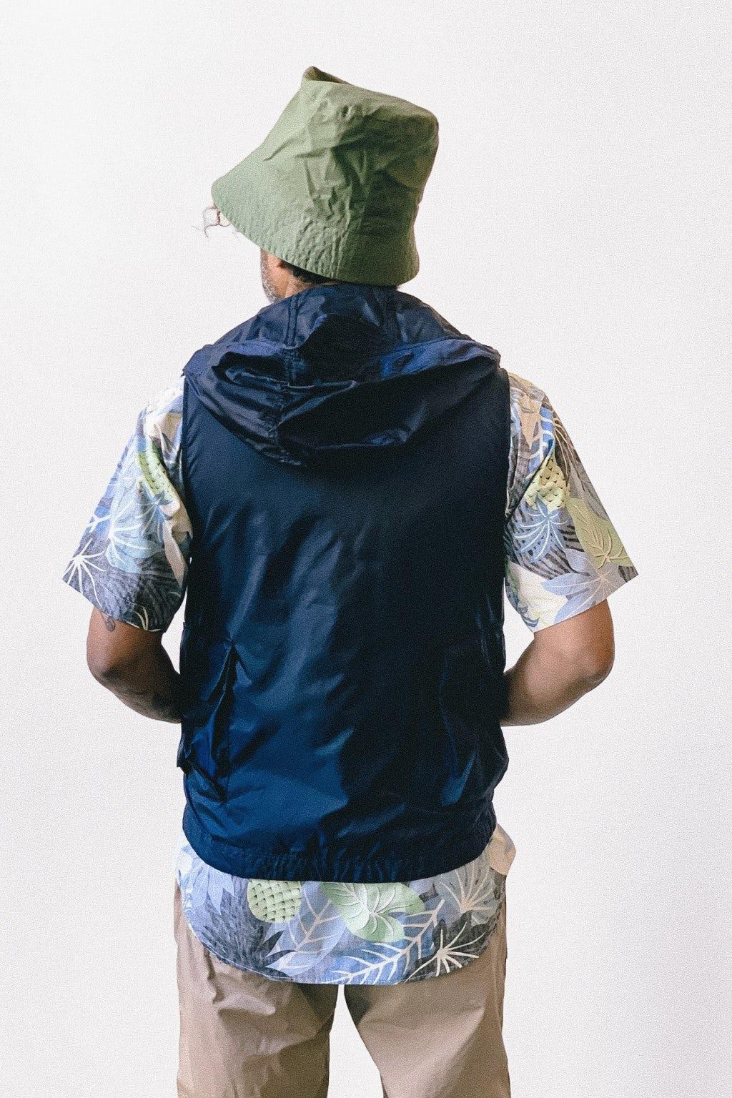 Engineered Garments Bucket Hat Olive Cotton Ripstop